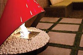 Accessoires décoratifs Fireplace - In-Situ Image by EcoSmart Fire