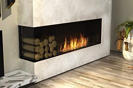 Angle gauche Fireplace - In-Situ Image by EcoSmart Fire