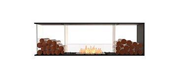 Flex 68PN.BX2 Péninsule (trois faces) Fireplace - Studio Image by EcoSmart Fire