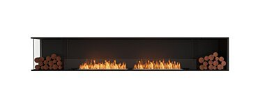 Flex 122LC.BX2 Angle gauche Fireplace - Studio Image by EcoSmart Fire