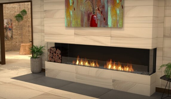 Lounge Area - Flex 50BY Série Flex by EcoSmart Fire