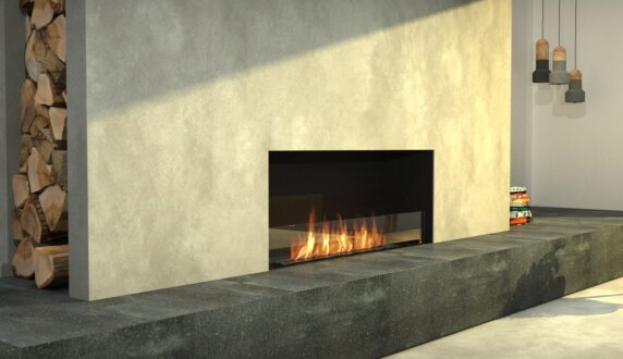 Living Area - Flex 68SS.BXL Série Flex by EcoSmart Fire