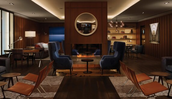 AKA Hotel - XL700 Cheminées intérieure by EcoSmart Fire
