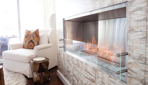 W Residence - Firebox 1200SS Série Premium by EcoSmart Fire