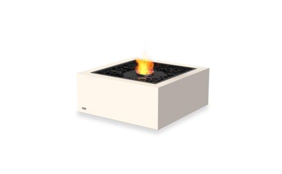 Base 30 Tables extérieure - Ethanol - Black / Bone by EcoSmart Fire