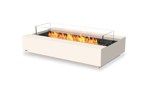 Cosmo 50 Tables extérieure - Ethanol - Black / Bone / Optional Fire Screen by EcoSmart Fire