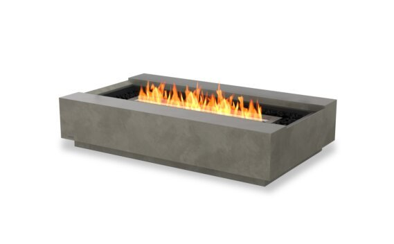 Cosmo 50 Tables extérieure - Ethanol - Black / Natural by EcoSmart Fire