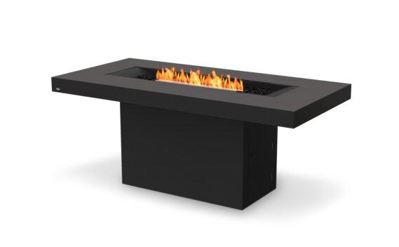 Gin 90 (Bar) Tables extérieure - Ethanol - Black / Graphite by EcoSmart Fire