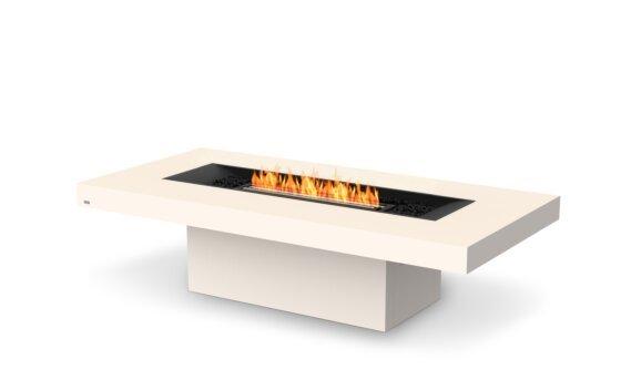 Gin 90 (Chat) Tables extérieure - Ethanol - Black / Bone by EcoSmart Fire