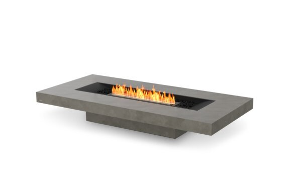Gin 90 (Low) Tables extérieure - Ethanol - Black / Natural by EcoSmart Fire