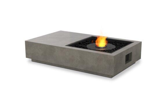 Manhattan 50 Tables extérieure - Ethanol - Black / Natural by EcoSmart Fire