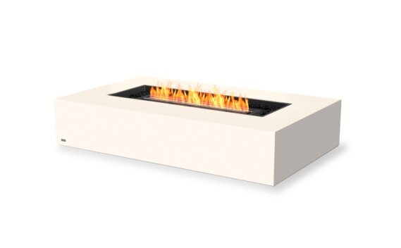 Wharf 65 Tables extérieure - Ethanol - Black / Bone by EcoSmart Fire
