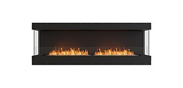 Baie (trois faces) Fireplace - by EcoSmart Fire
