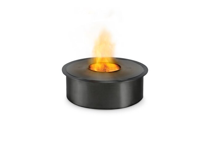 AB8 Brûleurs éthanol - Ethanol / Black / Top Tray Included by EcoSmart Fire
