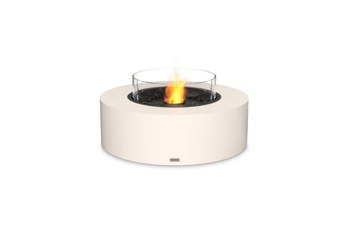 Ark 40 Tables extérieure - Ethanol - Black / Bone / Optional Fire Screen by EcoSmart Fire