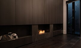 Private Residence Linear Fires Simple face Idea