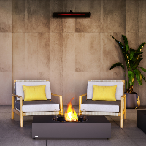 Warm your outdoor living space