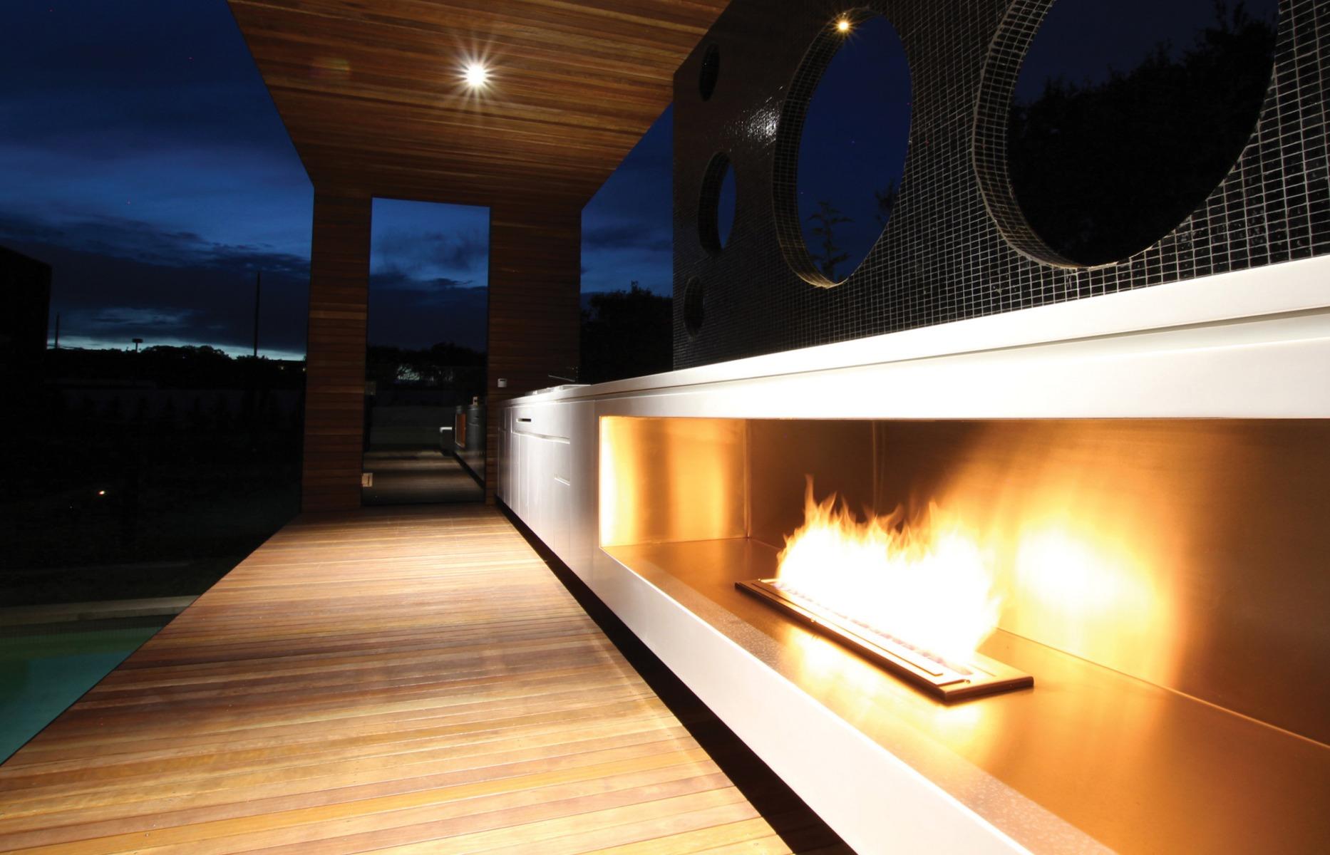 EcoSmart Fire XL900 ethanol burner Portsea
