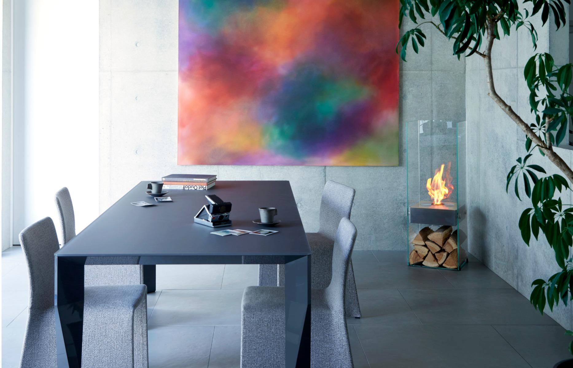 EcoSmart Fire Ghost Designer Fireplace